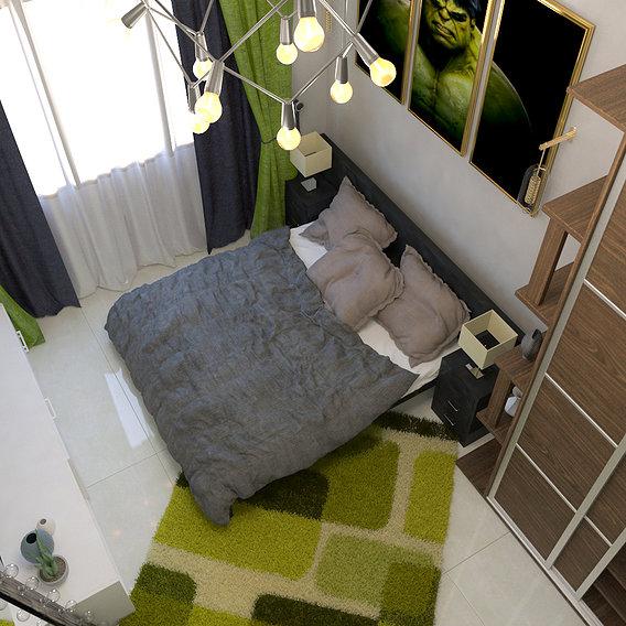 Hulk Bedroom