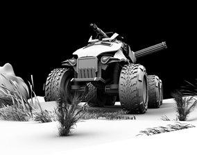 3D asset Goliath - Future Heavy Armor Vehicle