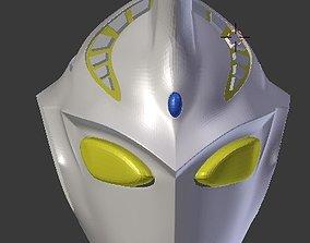 Ultraman Justice 3D printable helmet