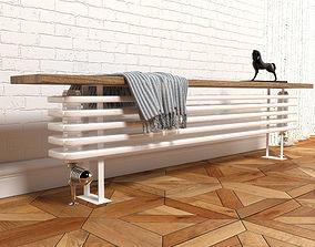 Zehnder bank-radiator 3D model