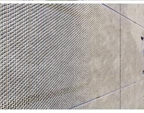 3D asset Perforated facade panels