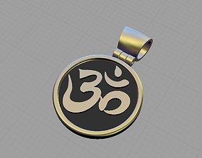 3D print model OM symbol