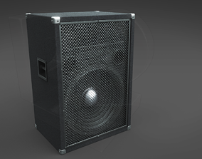 Simple hi-fi speaker 3D