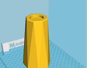 candle mold 3D printable model