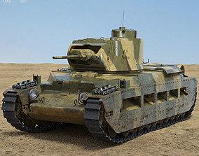 Matilda II 3D model