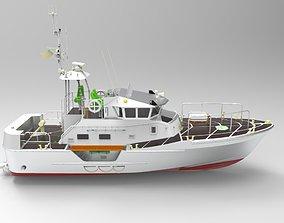 3D asset Yacht luxury