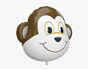 3D model Foil decoration balloon 08 Monkey