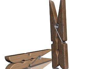 Clothespin 3D model