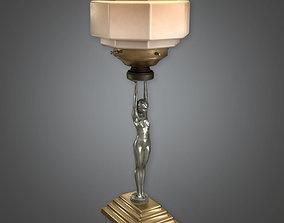 Lamp 03 Art Deco - DKO - PBR Game Ready 3D asset