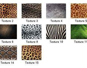 3D model 15 HD Jpegs Animal Textures