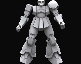 3D Gundam mobile suit MS05B model