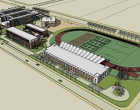 Region-City-School 104 3D