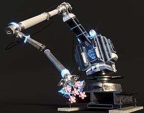 The enamored robot 3D model