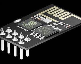 ESP8266WiFi module 3D
