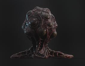 3D model Alien biomass