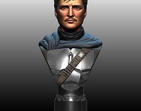The Mandalorian Din Djarin by Pedro Pascal 3D print model