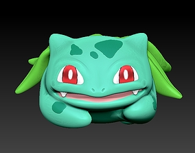 bulbasaur flower vase 3D print model