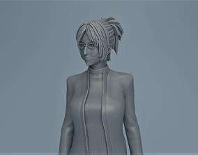 3D printable model Hanji Zoe manga
