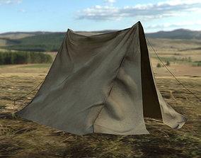 3D model Tent Low-poly