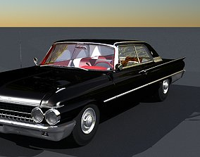 3D model 1961 Ford Galaxie Club Victoria