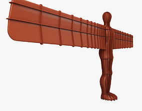 3D model Angel of the North