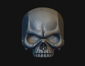 3D printable model Skull Stylized