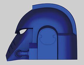 3D printable model Warhammer 40k Space Marine Helmet MK 1