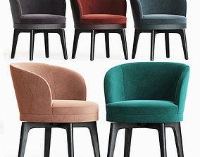 3D Fendi Casa Doyle Dining Chair
