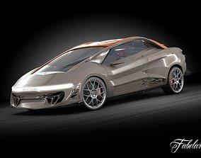 Bertone Nuccio concept 3D model