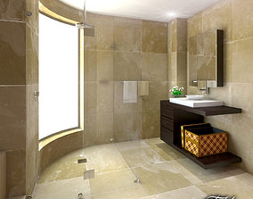 3D model Bathroom luxury