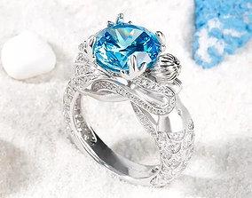 rings luxury Ring Jewelry 3D print model