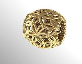 flower charm ball 3D print model