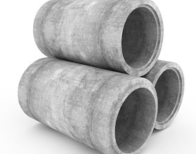 3D Concrete Pipe