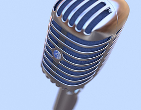 3D model Shure brother 55s