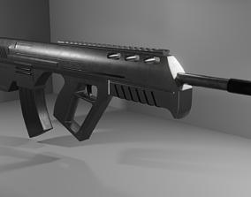 3D model Bullpup Rifle