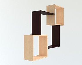 cabinet 3D model Shelf 1