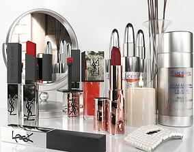 A set of elite cosmetics 2 3D