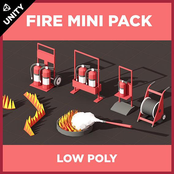 PLEXUS LOW POLY FIRE MINI PACK