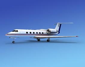 3D Grumman Gulfstream IV V13