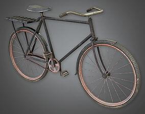 Old Bike TLS - PBR Game Ready 3D model