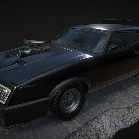 Ford Falcon XB GT ( Mad Max)