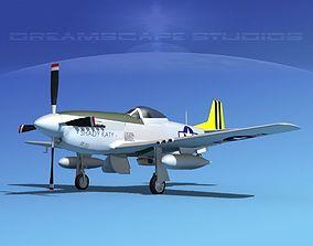 P-51D Mustang Shady Katy 3D model