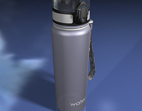 3D model Reusable Plastic Water Bottle