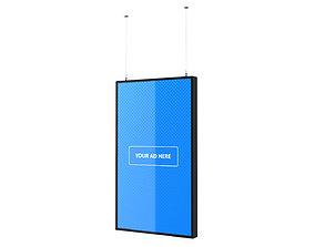 3D Digital Panel Vertical 43 Inch
