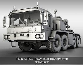 elefant Faun STL-56 Tractor 3D model
