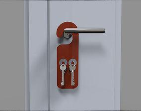 Door Hanger Key Holder 3D print model