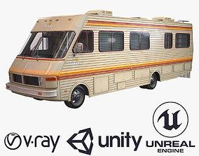 3D asset VR / AR ready Fleetwood bounder 1986