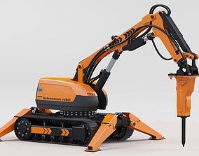 3D model Autonomous robot