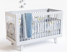Hudson Crib 3D
