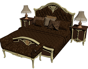 Classic Bed 3D bed